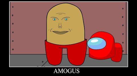 Видео Amogus колобок   амогус мем песня   мульт анимация амонг ас