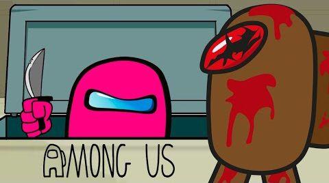 Видео Among Us Анимация - Зомби вирус | 1 Серия (Амонг Ас Альтернативная логика)
