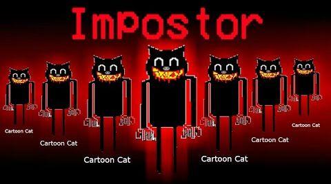 Видео AMONG US но ПРЕДАТЕЛЬ МУЛЬТЯШНЫЙ КОТ - Амонг Ас Cartoon Cat