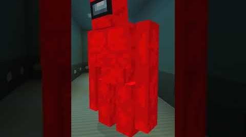 Видео Херобрин создал Красного Голема из Амонг Ас в Майнкрафт