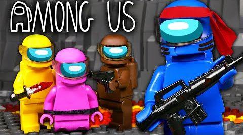 Видео LEGO Мультфильм Among Us 5 - ФИНАЛ  / Предатель среди нас / Stop Motion, Animation