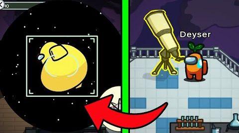 Видео Не Смотри в телескоп в 3:00 НОЧИ в амонг ас
