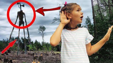Видео СИРЕНОГОЛОВЫЙ В РЕАЛЬНОЙ ЖИЗНИ против АМОНГ АС ! потерялись в лесу СБОРНИК